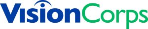 Vision Corp Logo Blue 301.Green 3282