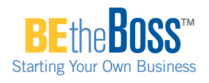 Be The Boss logo